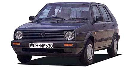 フォルクスワーゲン ゴルフII ゴルフ 1989年10月〜1992年4月