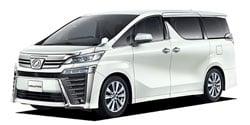 トヨタ ヴェルファイア 2.5Z<br>(フルタイム4WD / 7名 / CVT(無段変速車))