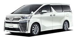 トヨタ ヴェルファイア 2.5Z Aエディション<br>(フルタイム4WD / 7名 / CVT(無段変速車))